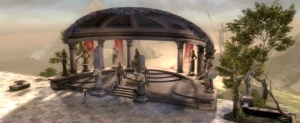 Themyscira, templo