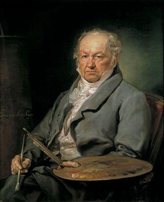 Vicente López, Retrato del pintor Francisco de Goya. 1826.