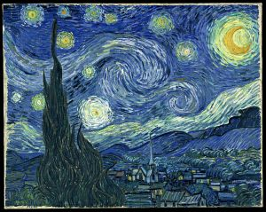 Vincent van Gogh, Starry Night. 1889.