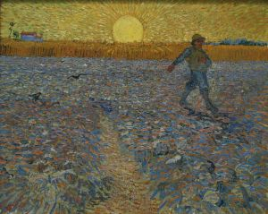 Vincent van Gogh, The sower. 1888.
