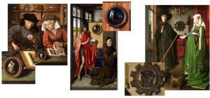 El Maestro de Flémalle y Jan van Eyck (Técnica)