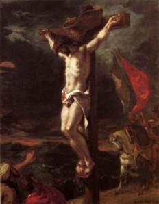 Eugène Delacroix, Crucifixión. 1846.