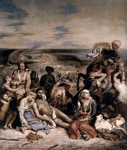 Eugène Delacroix, Le Massacre de Scio.