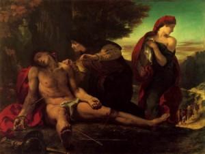 Eugène Delacroix, San Sebastián. 1836.