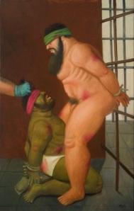 Fernando Botero, Abu Ghraib 42.