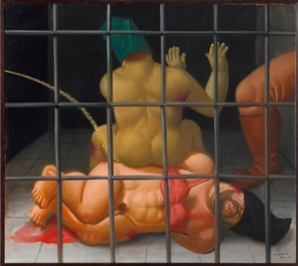 Fernando Botero, Abu Ghraib 66. 1932.