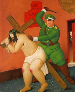 Fernando Botero, Pasión de Cristo.