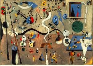 Joan Miró, Carnaval de Arlequín. 1925.