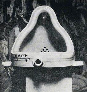 Marcel Duchamp, La Fuente. 1917.