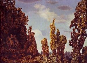 Max Ernst, Decalcomanía.