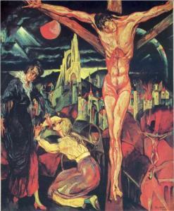 Max Ernst,Crucifixion. 1913.