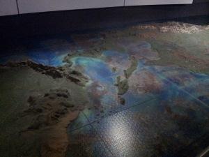Mapa de América, Museo de América en Madrid