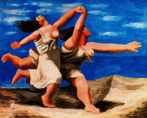 Pablo Picasso, Dos mujeres corriendo por la playa. 1922.