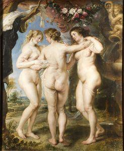 Peter Paul Rubens, Las tres Gracias .c. 1635.