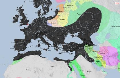 1350 La Peste Bubónica