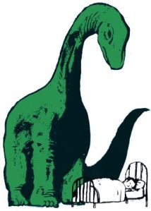 Cuando empecé este blog el dinosaurio todavía estaba allí...