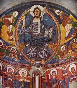 Pantocátor. Apse of Sant Climent de Taüll. c. 1123.