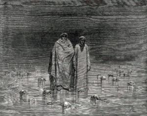 Gustave Doré, la Ptolomea.