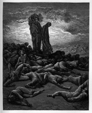 Gustave Doré, los avaros.