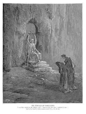 Gustave Doré, Las puertas del Purgatorio.