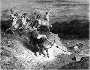 Gustave Doré, Centauros.