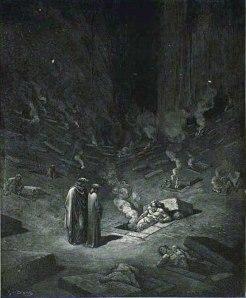 Gustave Doré, los herejes.