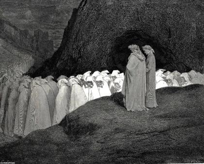 Gustave Doré, los hipócritas.