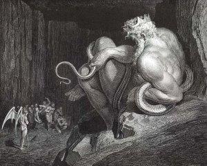 Gustave Doré, Minos.