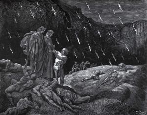 Gustave Doré, Sodomitas, usureros y blasfemos.