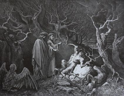 Gustave Doré, Suicidas.