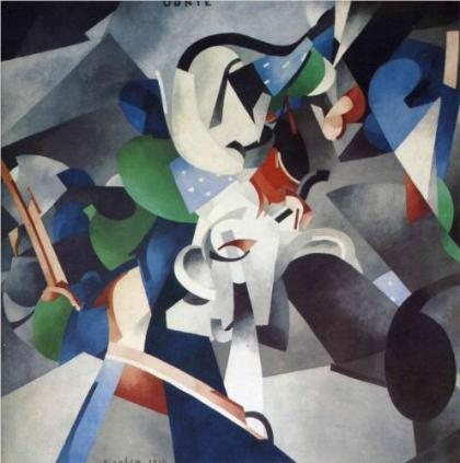 Francis Picabia, Udnie young american girl. 1913.