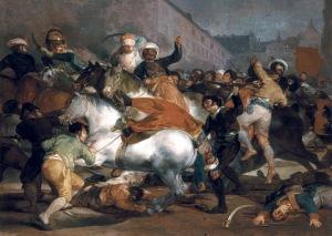 Francisco de Goya, Dos de mayo.