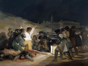 Francisco de Goya, Tres de mayo.