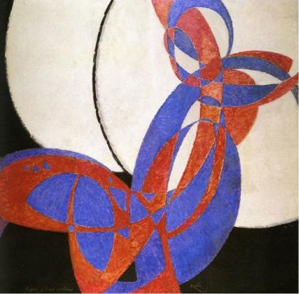 František Kupka, Amorpha, fugue en deux couleurs. 1912.