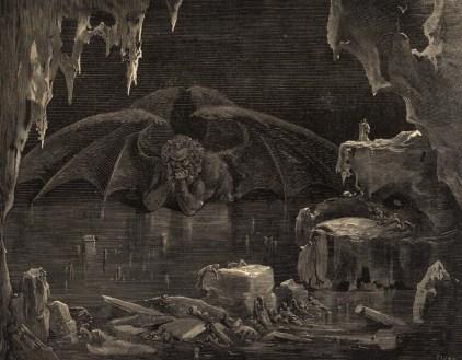 Gustave Doré, la Judesca.