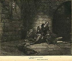 Gustave Doré, la Antenora.