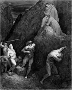 Gustave Doré, el suplicio de Mahoma.