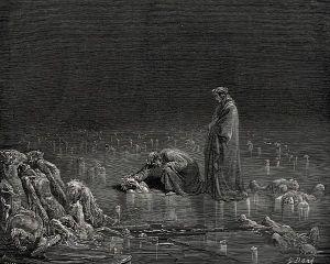 Gustave Doré, la Caína
