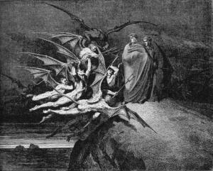 Gustave Doré, Canto XXI