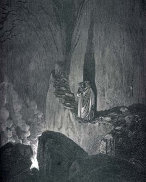 Gustave Doré, Las llamas de los malos consejeros.