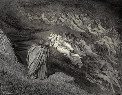 Gustave Doré, Paolo y Francesca.