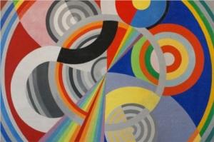 Robert Delaunay, Rythm I. 1939.