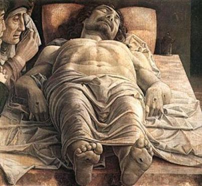Mantegna, Cristo yaciente.