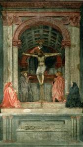 Masaccio, La Trinidad.