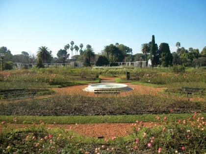 Jardines del Rosedal, Palermu.