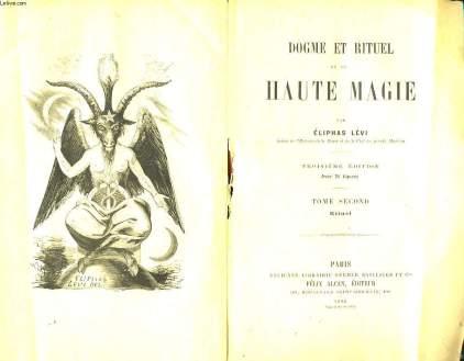 Eliphas Levi, Dogme et Rituel de la Haute Magie