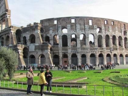 Il Colosseo.
