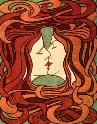 11-69 Peter Behrens, The Kiss, 1898