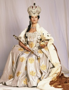 Chaterine Zeta Jones as Catherine the Great