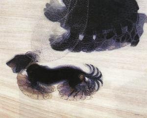 Giacomo Balla, Dinamismo de un perro con correa.